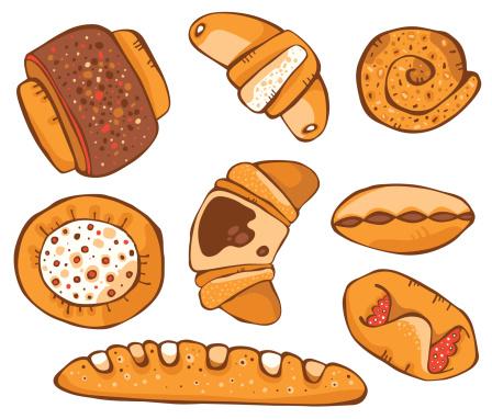 Set of baking